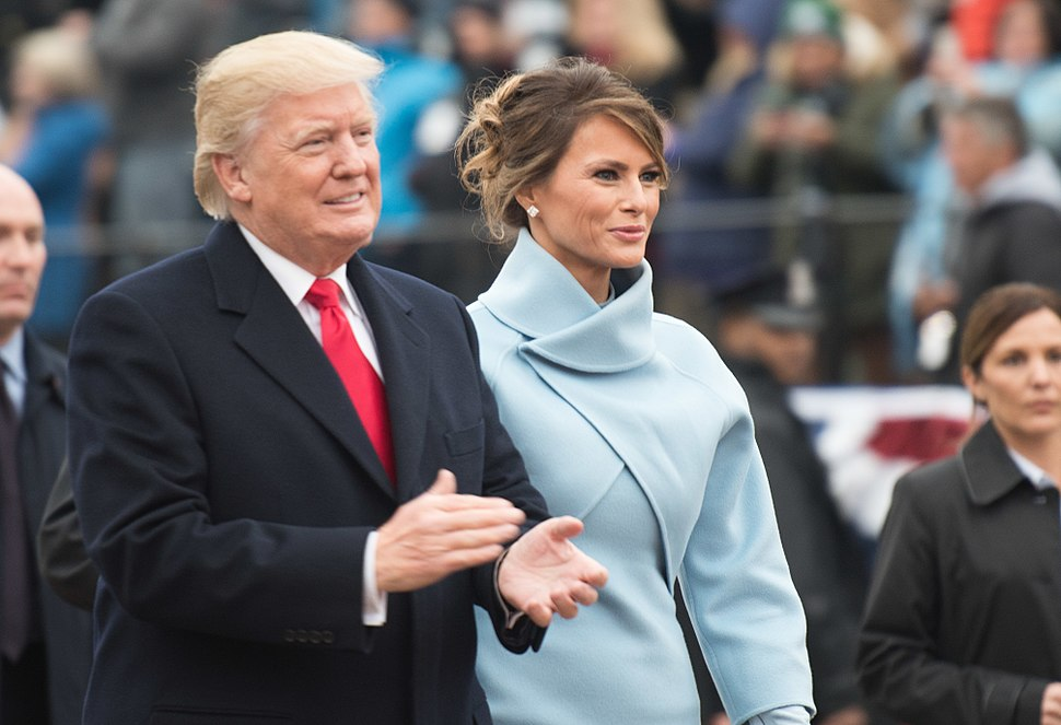 Donald and Melania Inaugural parade 01-20-17