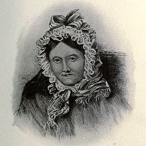 Dorothy Wordsworth - Drawing of Dorothy Wordsworth in middle age