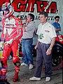 Doug Chandler and Giacomo Agostini 1993 Eastern Creek.jpg
