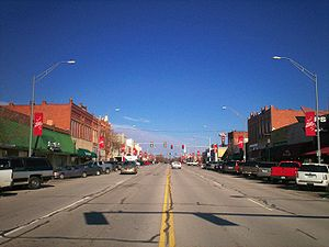 Tulsa metropolitan area - Broken Arrow is the region's second largest city.