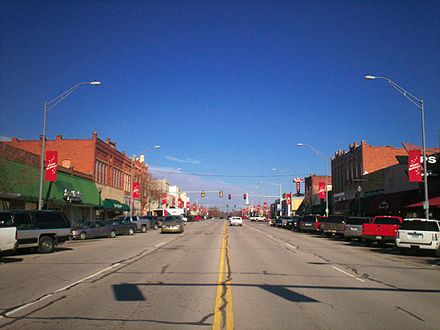 Broken Arrow is the region's second largest city. Downtown Broken Arrow.jpg