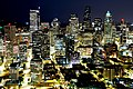 Downtown view from Space Needle observation deck at night. - panoramio.jpg