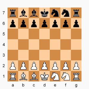 Dragonfly (chess variant) - Image: Dragonfly 7x 7 init config