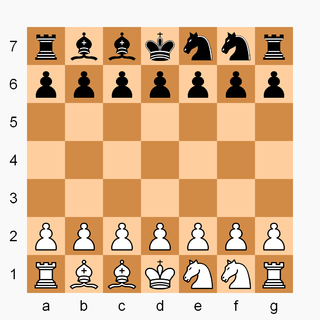 Dragonfly (chess variant) chess variant played on a 7×7 board