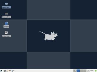 Dragora GNU/Linux-Libre - Image: Dragora Desktop