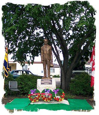 Hamiota, Manitoba - Dr. John E. Hudson, a notable resident of Hamiota