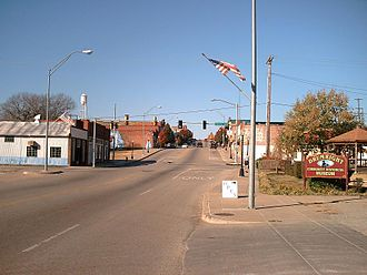 Drumright, Oklahoma - Downtown Drumright (2010)