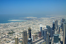 Dubai coast and more island construction (5374328588).jpg