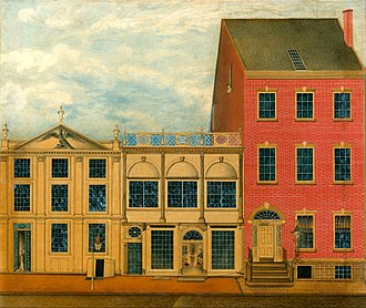 Duncan Phyfe - Shop and warehouse on 168-172 Fulton Street, New York city.