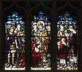 Dundalk Saint Patrick's Pro-Cathedral West Aisle Window 04 Lower Lights 2013 09 23.jpg
