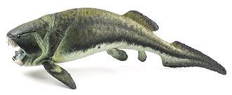 Dunkleosteus - Life restoration of D. terrelli