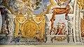 Duomo di viterbo, interno, coro dei canonici, con affreschi di giuseppe passeri, 1683, 08.jpg