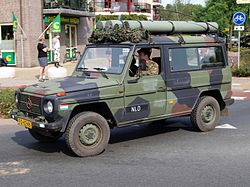 Dutch army Mercedes Benz MB 290 GD, Bridgehead 2011 pic2.JPG