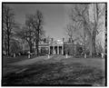 EAST FACADE (CLOSER VIEW) - Monticello, State Route 53 vicinity, Charlottesville, Charlottesville, VA HABS VA,2-CHAR.V,1-15.tif