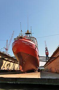 ELBE1 - Bürgermeister O'Swald (ship, 1948) 2012 05-by-RaBoe 16.jpg