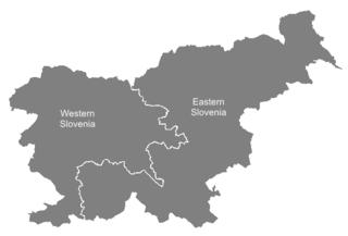 Eastern Slovenia Region in Slovenia