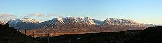 Skagafjörður - Panoramic view east across Skagafjörður, from Vatnsskarð pass