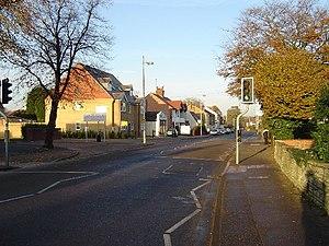Eastfield, Peterborough - Eastfield Road, Peterborough at entrance to Peterborough Regional College.