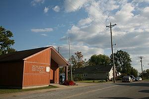 Eddyville, Illinois - Eddyville post office on Main St.