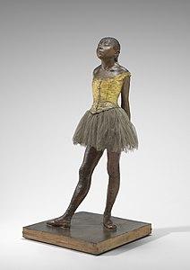 Edgar Degas, Little Dancer Aged Fourteen, 1878-1881, NGA 110292
