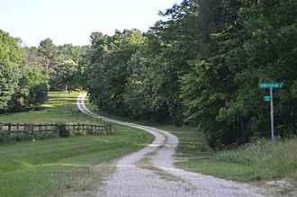 Edge Hill (Gladstone, Virginia) - Entrance