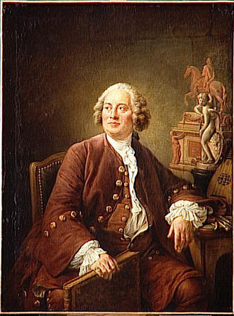 Edmé Bouchardon - Portrait of Bouchardon by François-Hubert Drouais in 1758.