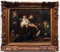 Edouard agneessens, i bambini colard, bozzetto, 1874.jpg