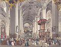 Eduard Gurk - Das Innere der Basilika von Mariazell - 1833.jpg
