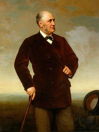 Edward Baring, 1st Baron Revelstoke - Image: Edward Baring, 1st Lord Revelstoke (1828 1897)