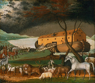 Noah's Ark - Noah's Ark (1846), by the American folk painter Edward Hicks.