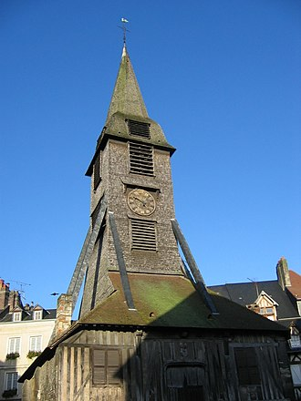 Honfleur - Bell tower of the Church of Saint Catherine, Honfleur