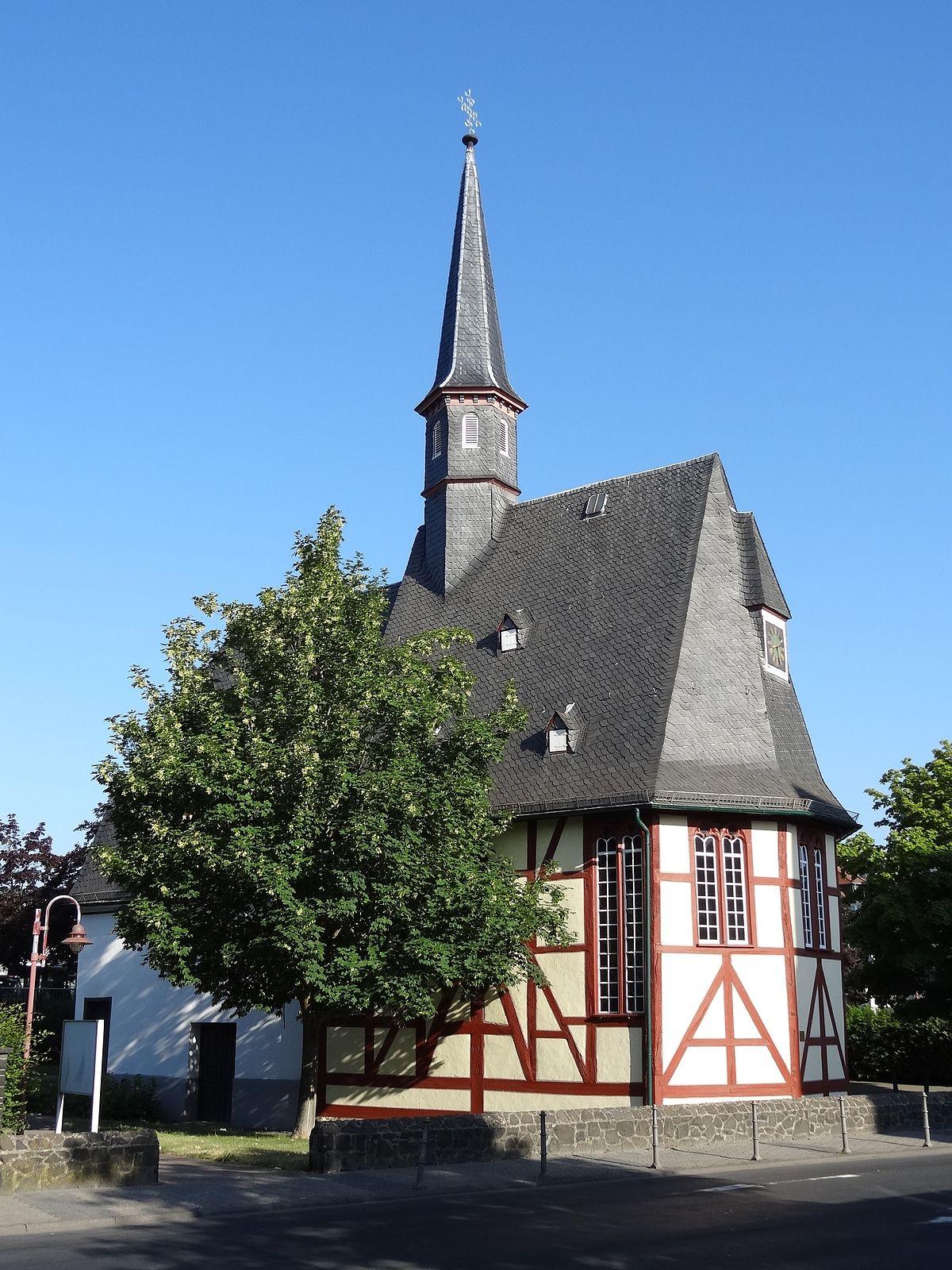 Butzbach Fenster wendelinskapelle butzbach