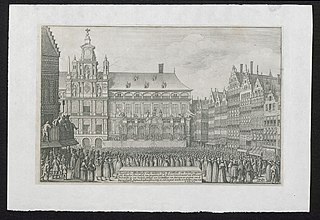 Eijgentlijke Afbeeldinghe ende maniere van de publicatie van den Peys ...