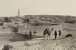 Arish Place in North Sinai, Egypt
