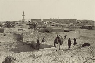 Arish - Skyline of Arish, 1916