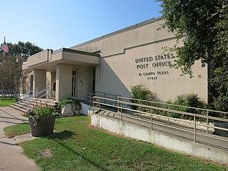 El Campo, Texas - Image: El Campo TX US Post Office