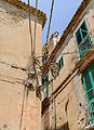 Electrical wiring in Tropea - Calabria - Italy - July 17th 2013.jpg