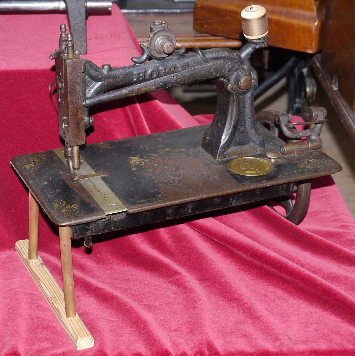 Sewing Machine Elias Howe