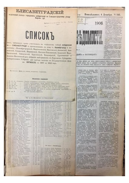 File:Elisavetgrad&Bobrinets&Voznesensk&Novomirgorod&Olviopol Duma voters 1906 pril 140.pdf