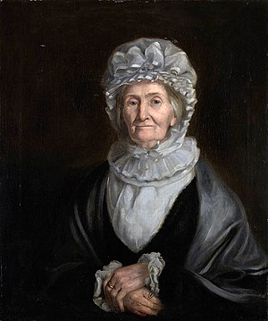 Elizabeth Batts Cook - Portrait of Mrs Elizabeth Cook by William Henderson, dated 1830.