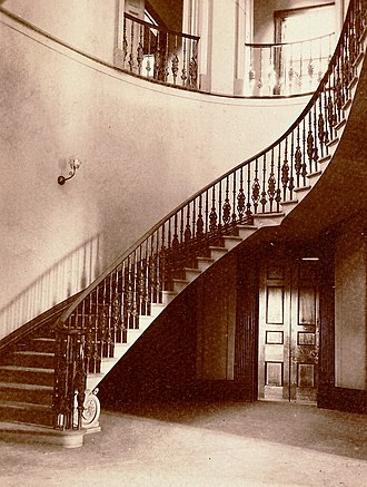 Elizabeth Bay House - Image: Elizabeth Bay House staircase
