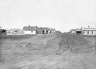 Elkhart, Kansas - Elkhart, circa 1905