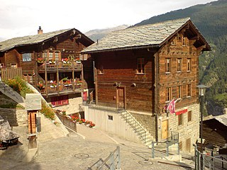 Embd Municipality in Switzerland in Valais