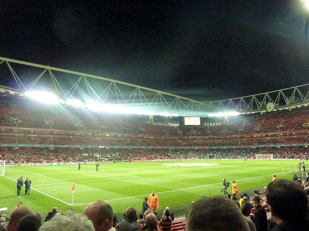 File Emirates Stadium Arsenal Vs Marseille Jpg Wikimedia Commons
