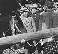 Emperor Showa visit to Koiwai Farm in 1947.JPG