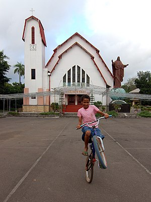 Ende, East Nusa Tenggara - Christ the King Cathedral in Ende