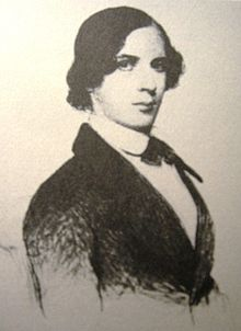 Engraving of F.G. Tuckerman as a young man