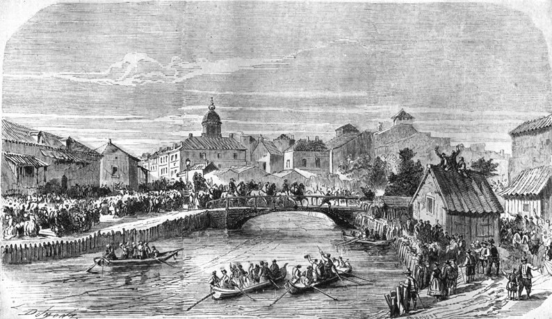 Entering of Carol I in Bucharest, 10 May 1866
