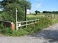 Entrance to Knowle Farm, near Lea Heath, Staffordshire. - geograph.org.uk - 208396.jpg