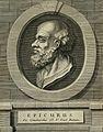 Epicurus. Line engraving. Wellcome V0001779.jpg